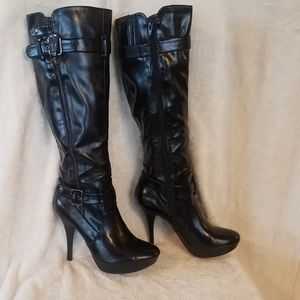 Guess knee high boots